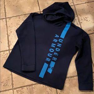 Under armor women's loose neck hoodie NWT M